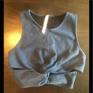 Free People movement crop top in size medium